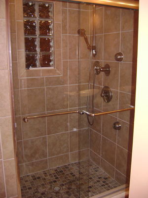 custom showers and tile work is our specialty